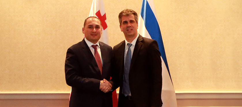 Dimitry Kumsishvili Held Meeting with Minister of Economy and Industry of Israel, Eli Cohen – 10.05.2018