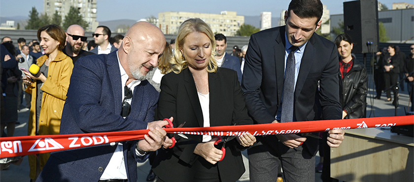 Natia Turnava at ZODI+ New Enterprise Opening Ceremony  - 25.10.2019