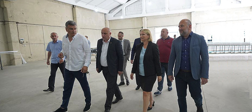 Natia Turnava Opened Aluthec Georgia New Enterprise in Georgia - 30.07.2020
