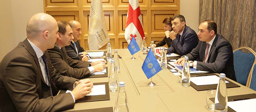 Dimitry Kumsishvili Held Meeting with EBRD Vice President, Alain Pilloux - 29.11.2017