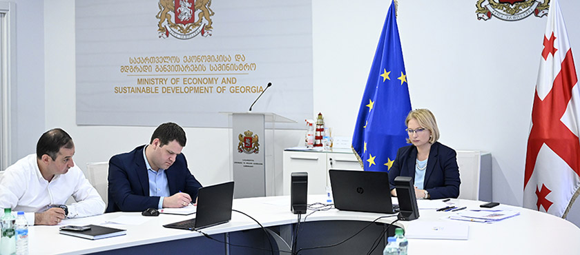 Natia Turnava Had Online Meeting with Minister of Transport and Communication of Lietuva, Jaroslav Narkevič - 18.05.2020