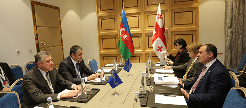 Dimitry Kumsishvili Held a Meeting with the Minister of Transport, Communications and High Technologies of Azerbaijan, Ramin Guluzade - 28.11.2017