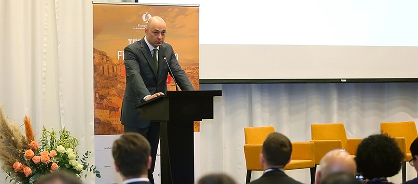 George Kobulia Opened 2018 EBRD TFP Trade Finance Forum – 18.10.2018