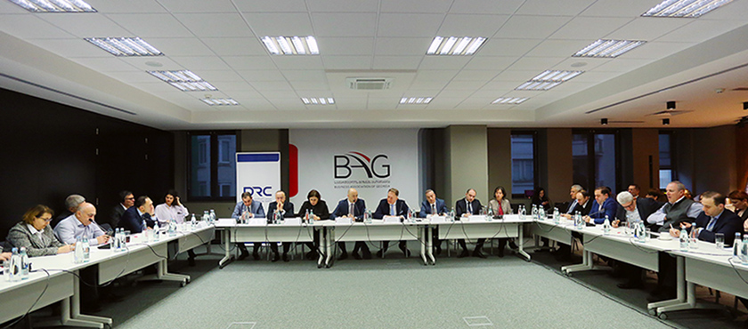 Giorgi Kobulia Met with Members of Business Association of Georgia - 12.12.2018