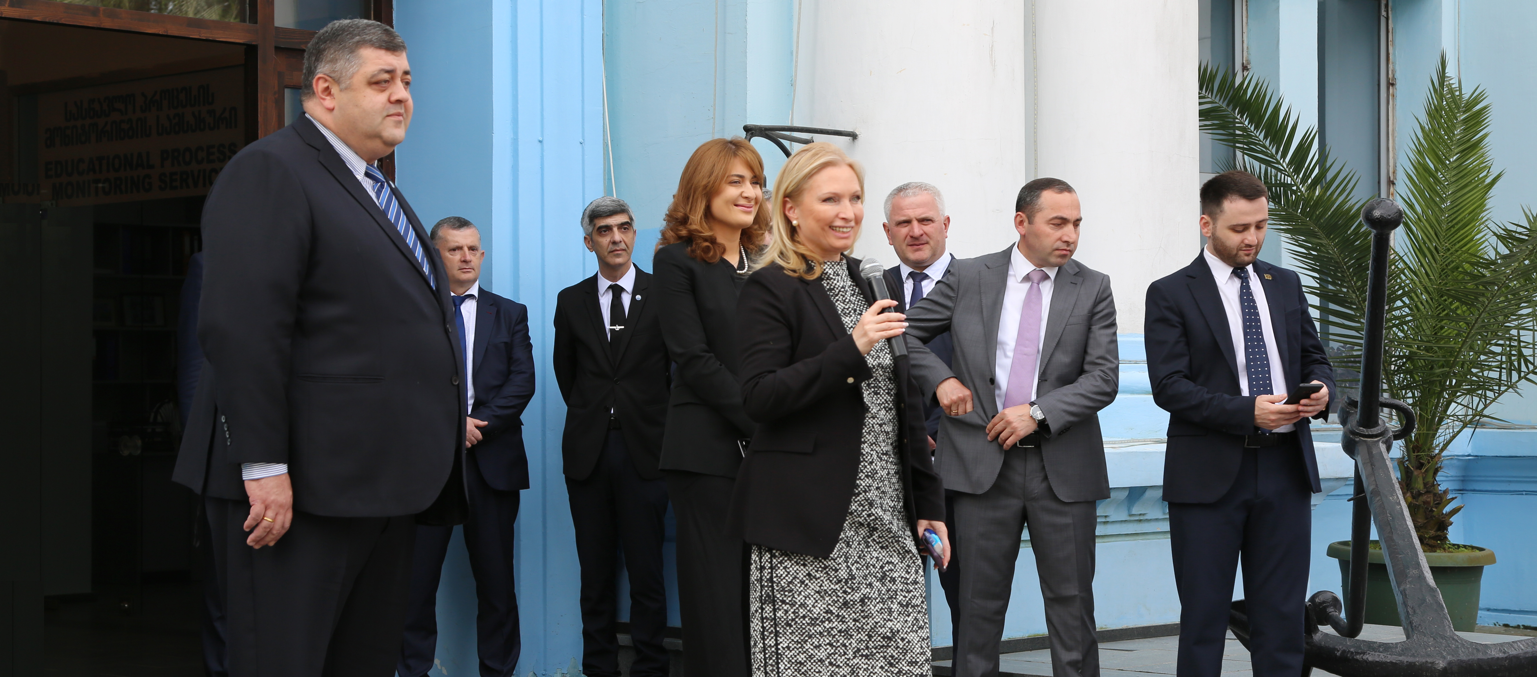 Natia Turnava Got Familiar with Batumi Maritime Academy Educational Process and Training Infrastructure – 17.05.2019