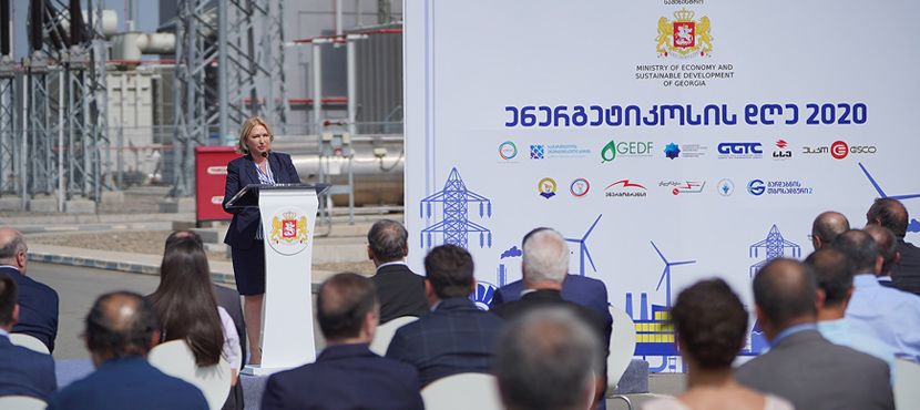 Natia Turnava Congratulated Energy Sector Employees on Energy Day – 10.09.2020